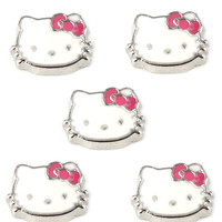 Hello Kitty Flag Floating Charm