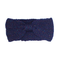 Lauralie Sparkle Headband - Navy