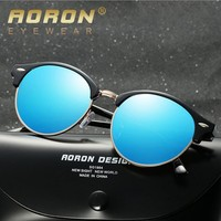 2018 fashionable oversize cat 3 metal frame unisex sunglasses