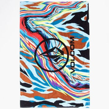 Volcom Parillo Towel Black/Multi One Size For Men 25813196901