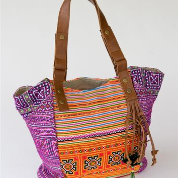 Vibrant Stitches Bag - Noonday Collection