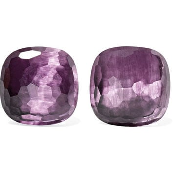 Pomellato - Nudo 18-karat rose gold amethyst earrings