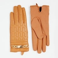River Island Embossed Leather Gloves