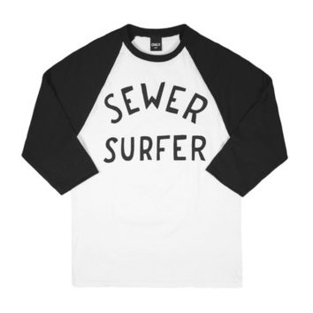 ONLY NY | STORE | Tees | Sewer Surfer Baseball Tee