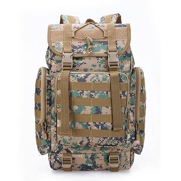 Military Style Outdoor Large 40L MOLLE Webbings Backpack