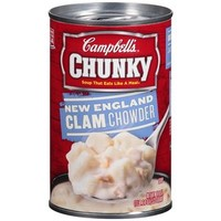 Walmart: Campbell's Chunky New England Clam Chowder Soup, 18.8 oz