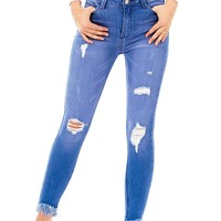 Radioactive Ankle Skinny Jeans