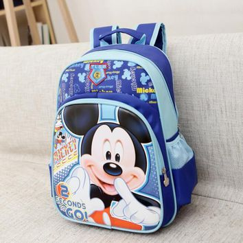 Kid Bag Kindergarten Children Schoolbag Mickey Backpack Boys Girls School Bags Kids Backpack Shoulder Bag Mochila Infantil