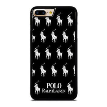 Best POLO RALPH LAUREN BLACK iPhone 7 and 7+ Hard Plastic Case Cover