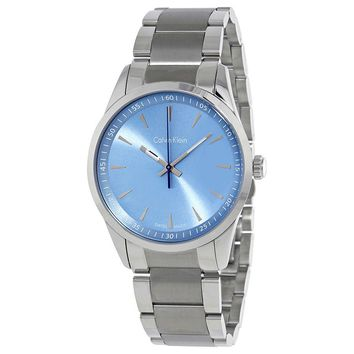 Calvin Klein Bold Light Blue Dial Mens Watch K5A3114X