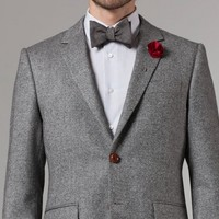 EARL GRAY TWEED BLAZER