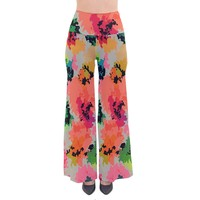 Colorful Spots Women's Chic Palazzo Pants So Vintage Palazzo Pants