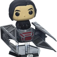 Funko Pop Deluxe: Kylo Ren in Tie Fighter Collectible Vinyl Figure
