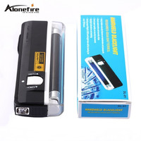QUALITY GOODS Handheld UV Leak Detector For uv light bank note test currency + White LED flashlight torch
