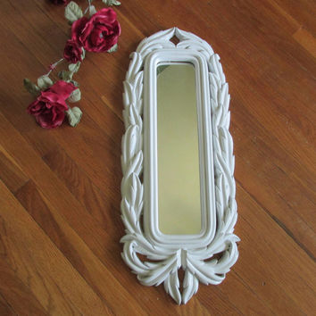 Upcycled Mirror Narrow Elegance for the Wall
