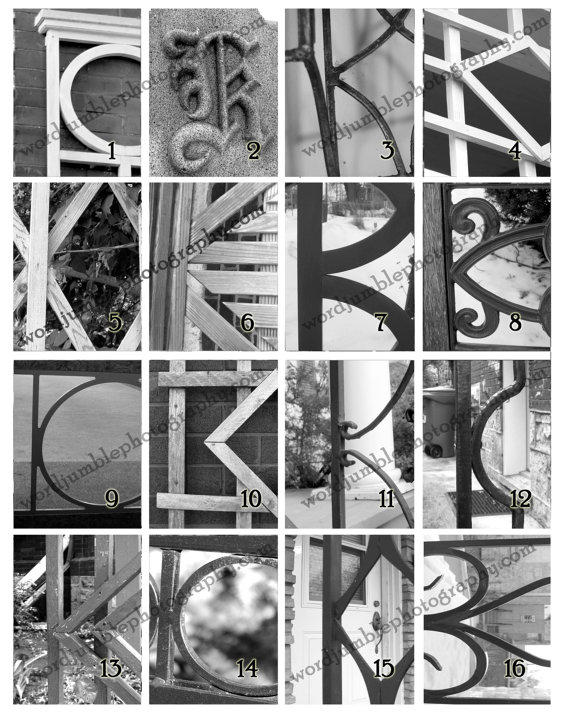 letter k capital letter wrought iron from wordjumblephotos on