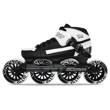 100% Original Bont Pursuit 3PT Package Speed Inline Skates Heatmoldable Carbon Fiber Boot 4*90/100/110mm Wheels Skating Patines