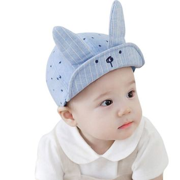 Cute Baby Bunny Ear Boy Hat