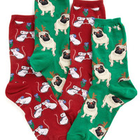 ModCloth Minimal Yule Love This Sock Set