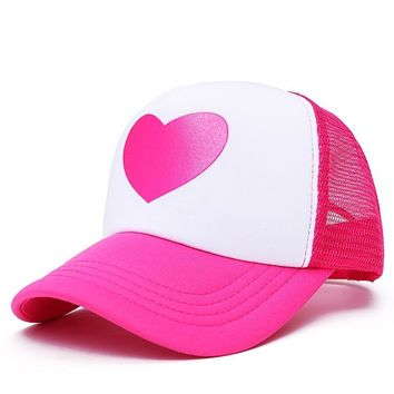 Trendy Winter Jacket VORON 2017 New Cute pink Rose baseball Cap for  Women with Mesh Summer Snapback Hat Trucker Caps Young Sweet Girl Hat Cap Summer AT_92_12
