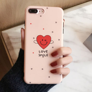 Love Heart iPhone 7 7Plus & iPhone se 5s 6 6 Plus Case Cover +Gift Box-185