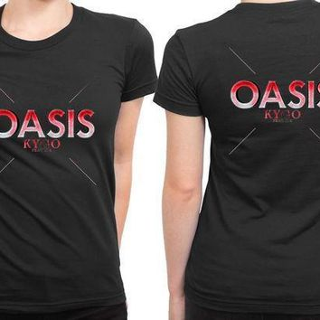 Kygo Oasis Feat Sia 2 Sided Womens T Shirt