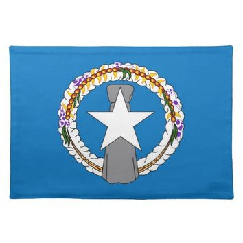 Northern Mariana Flag American MoJo Placemat