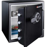 SENTRY SAFE Fire Safe, 1.23 cu ft, Black - G6413294 at Zoro