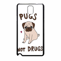 Pug Not Drugs 264 Samsung Galaxy Note 3 Case