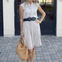 Ana Striped Skirt - Clothes - What's New | Hand In Pocket Boutique