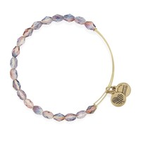 Tranquil Pink Serenity Beaded Bangle