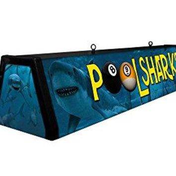 "44"" Acrylic Pool Table Light, Pool Sharks"