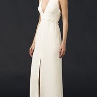 Modern Gown with Hardware