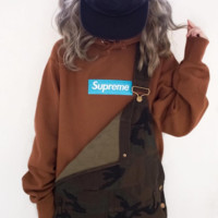 Supreme Box Logo Hoodie 17AW Fashion Casual Long Sleeve Sweater G-CN-CFPFGYS