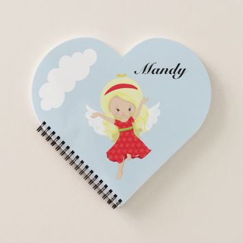Cute Cartoon Girl Angel Notebook