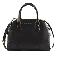 Michael Kors Hattie Pebble leather Handbag Moss