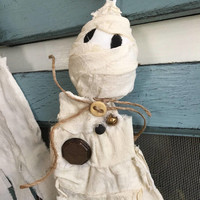 Halloween mummy decoration/ Halloween Decor/ hanging mummy