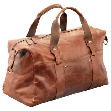 Earthkeepers™ Winnegance Leather Duffle Bag