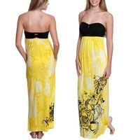Fox Destination Juniors Maxi Dress - Lemonade
