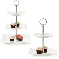 Maxwell & Williams™ White Basics Motion Tier Sweets Stand