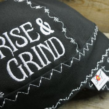 »Johnny Cash Inspired« §Rise & Grind§ Size 7 7/8 Prewashed Canvas Welding Cap