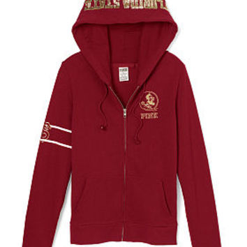 Florida State University Perfect Full-Zip Hoodie - PINK - Victoria's Secret