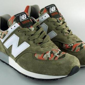 CREYONV new balance made in usa reg us576cm2 olive orange