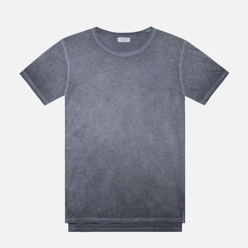 Sprayed Mercer Tee / Navy