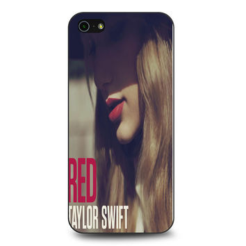Red Taylor Swift Cover Album iPhone 5 | 5S Case