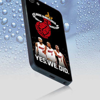 Miami Heat Big Three for iphone 4/4s case, iphone 5/5s/5c case, samsung s2 i9100,s3/s4 case cover