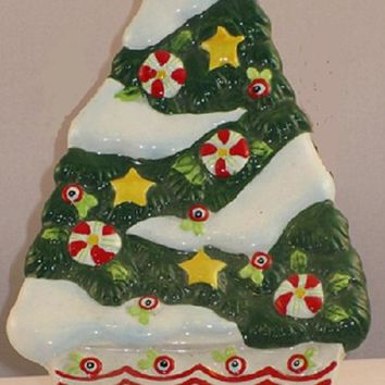 Mary Engelbreit Home Sweet Home Christmas Tree Spoon Rest-746851