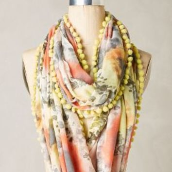 Amorim Infinity Scarf by Anthropologie in Red Size: One Size Scarves