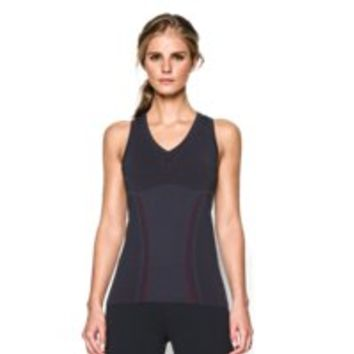 Under Armour Women's Black Widow UA Seamless Compression Tank