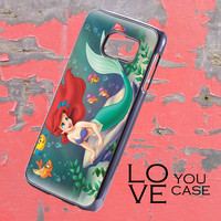 cute little mermaid  For iphone, ipod, samsung galaxy, HTC and Nexus PHONE CASE